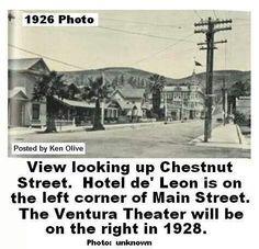 Chestnut Street 1926.