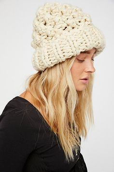 Product Image: Chunky Bobble Knit Beanie