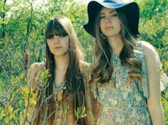 """Sisters Klara & Johanna Soderberg are also called """"First Aid Kit"""".  Though hailing from Sweden, their lilting twang speaks Appalachian core-folk, aligned with pining Wynette, and youthful two-part Adele, among others."""