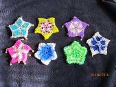 Rainbow Loom Christmas Stars