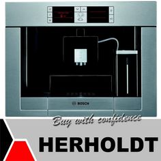 """One of the key features of this Bosch Automatic Coffee Machine is that it has a reduced heating-up time, making it the fastest first cup machine, it even has a custom coffee option, """"My Coffee"""". One Cup Coffee Maker, My Coffee, Bosch Appliances, Kitchen Appliances, Automatic Coffee Machine, Home Improvement, Brewing, Key, Diy Kitchen Appliances"""