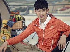 Kim Soo Hyun Is a Handsome Athlete in New Beanpole Photos | Soompi
