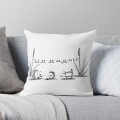 'Socks' Throw Pillow by PounceBoxArt Buy Socks, Bed Pillows, Cushions, Canvas Prints, Art Prints, Duvet Covers, Finding Yourself, House Design, Printed