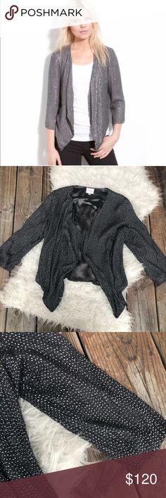 1ec25499e1a Parker silk beaded jacket like new size M Parker beaded jacket like new size  M Waterfall