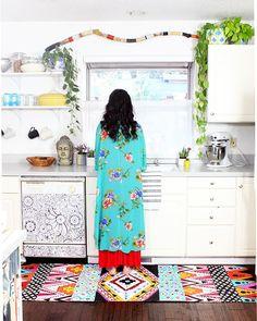 canvas floor cloth | alisaburke | Bloglovin'