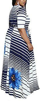 CACNCUT Women's Plus Size Dress, Big Size Maxi Dress for Women Sexy Evening Bodycon Dresses(20W, Blue) at Amazon Women's Clothing store: Big Size Dress, Thing 1, Sexy Women, Bodycon Dress, Plus Size, Amazon, Store, Skirts, Clothing