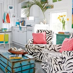 Walk on the Wild Side - Our 60 Prettiest Island Rooms - Coastal Living
