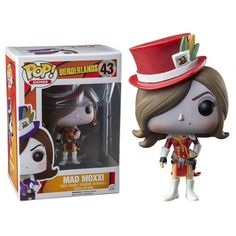 Funko Pop! Red Mad Moxxi, Borderlands, Games, Jogos, Funkomania