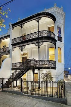 What a stunning property Waterloo, Avoca Street, South Yarra, Melbourne, 1890 #australianhomes #sydney