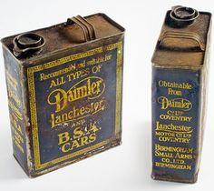 Daimler Oil Cans