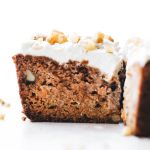 Vegan Paleo Carrot Cake | Feasting on Fruit