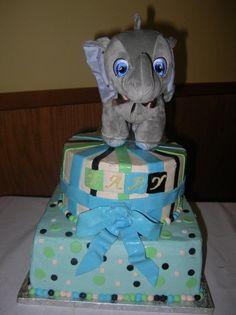 baby shower cake    Flour Power Cafe & Bakery San Antonio