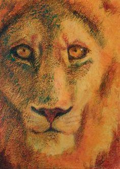 colorful contemporary lion print for sale Lion Print, Animal Paintings, Powerful Women, Fine Art Paper, Lisa, Colorful, Contemporary, Creative, Prints