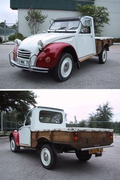 Citroën 2CV6 Fourgonnette 1974 pick-up