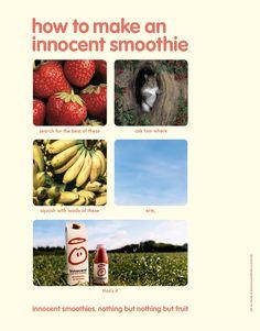 innocent smoothies - Lowe London