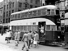 Trams in Jo'burg before 1961 Johannesburg Skyline, My Family History, Old Money, Busse, Historical Pictures, African History, The Good Old Days, Public Transport, Nostalgia