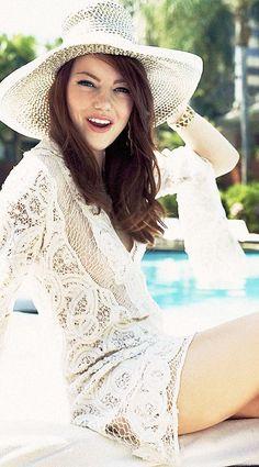 Emma Stone ♥ #Lace ☮k☮