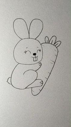 Art Sketchbook Ideas Drawings Easy – Art World 20 Easy Drawings For Kids, Art Drawings Sketches Simple, Pencil Art Drawings, Colorful Drawings, Drawing For Kids, Cute Drawings, Art For Kids, Drawing Ideas, Easy Disney Drawings