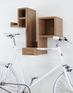 Box shelf bike rack