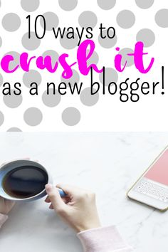 10 tips to start building a strong audience for your new blog. #traffic #blogging #bloggingtips