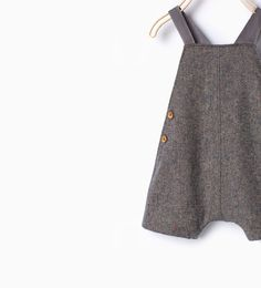 Romper suit with braces-Outfits & romper suits-Mini | Newborn-12 months-KIDS | ZARA United States