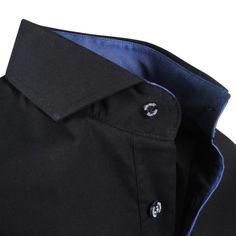 Exclusive trendy Italian Ferlucci black dress shirt http://eurodress.co.nz?utm_content=buffer8023d&utm_medium=social&utm_source=pinterest.com&utm_campaign=buffer Sign up for our newsletter to get 15% off! #menswear #fashion #european #trendy
