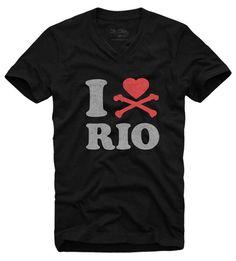 Camiseta I Love Rio  wwww.laditta.com.br #tshirt #iloverio #ilove #riodejaneiro #laditta