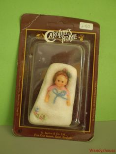 CARDED CARLOLINES HOME DOLLS HOUSE BABY & BLANKET FREE UK P & P | eBay