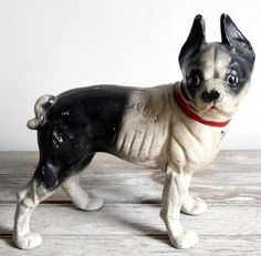 Hubley Boston Terrier.  I have one of these I got from my momma!!!