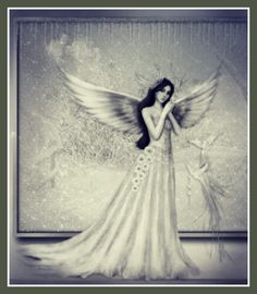 Angels occupy the loveliest corners of our thoughts.