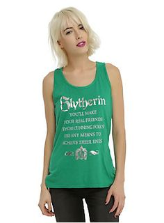Harry Potter Slytherin Sorting Hat Girls Tank Top 2a9cfde100