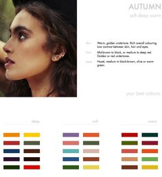 FINDING YOUR BEST COLOURS: The Autumn type