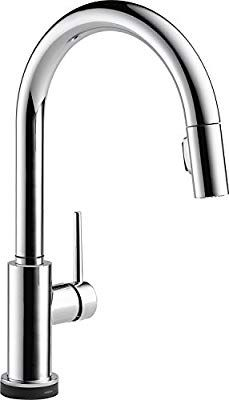 Delta Faucet Trinsic Voiceiq Single Handle Touch Kitchen Sink Faucet With Pull Down Sprayer Alexa And Kitchen Faucet Single Handle Kitchen Faucet Sink Faucets