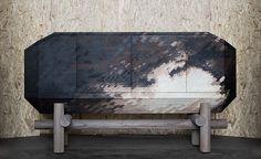 Design Miami/ Basel 2014 Bahut CloudInChest, collection Feu de Tout Bois, Benjamin Graindorge (Galerie Ymer & Malta)