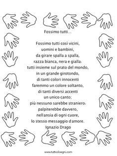 fossimo-tutti-filastrocca Mamma, Nursery Rhymes, Fairy Tales, Alphabet, Learning Italian, Imagination, Fairytale, Fairytail, Nursery Rhymes Songs