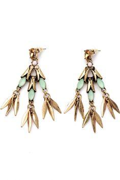 Chandelier Ornate Drop Earrings - OASAP.com