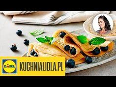 WEGAŃSKIE NALEŚNIKI 👌 z borówkami | Kinga Paruzel & Kuchnia Lidla