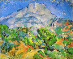 View of Mont Sainte-Victorie, Paul Cézanne