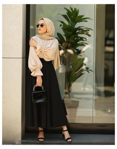 Modest Fashion Hijab, Modern Hijab Fashion, Modesty Fashion, Hijab Fashion Inspiration, Islamic Fashion, Muslim Fashion, Skirt Fashion, Fashion Outfits, Dresses For Hijab