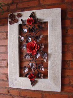 Um quadro para as flores de lata - A framework for the flowers of tin