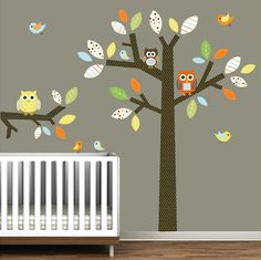 wall decals Children Vinyl Wall Decals Nursery Tree by Modernwalls, $139.00