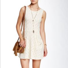 🎉HP🎉 Free People dress - NWT - size XS Free People dress - NWT - size XS. A scooped and sleeveless little dress with cut out details and dropped pockets. Back button closure. Awesome, versatile dress to dress up or down. And comfy, too! 🎉HP: Best in dresses and skirts: 6/14/16🎉 Free People Dresses Mini