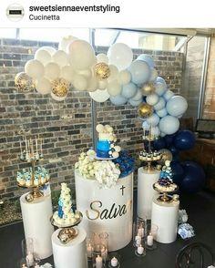 Nice and simple Balloon Backdrop, Balloon Wall, Balloon Garland, Balloon Decorations Party, Birthday Decorations, Table Decorations, Balloons Galore, Blue Balloons, Baby Shower Themes
