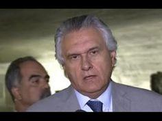 """Ronaldo Caiado sobre Gleisi: """"ficha enorme na delegacia falar em moral é..."""
