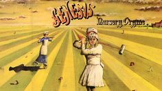 """Genesis """"Nursery Cryme"""" Artist: Paul Whitehead"""