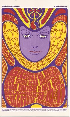 wes wilson poster - Google Search