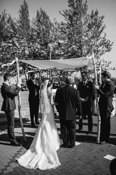 Nicole and David | Tufts | Shane Godfrey Photography | Flowers and Chuppah by Blooms of Hope