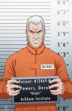 Derek Powers locked up by phil-cho.deviantart.com on @DeviantArt - Visit to grab an amazing super hero shirt now on sale!