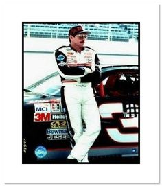 Dale Earnhardt Sr NASCAR Auto Racing Double Matted by NASCAR. $25.80