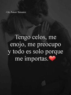 "Decir ""te amo"" y hacer sentir que todo es verdad Love Quotes # Qoutes About Love, Love Quotes For Him, Sad Love, I Love You, Love Qutoes, Le Pilates, Amor Quotes, Quotes En Espanol, Tumblr Love"